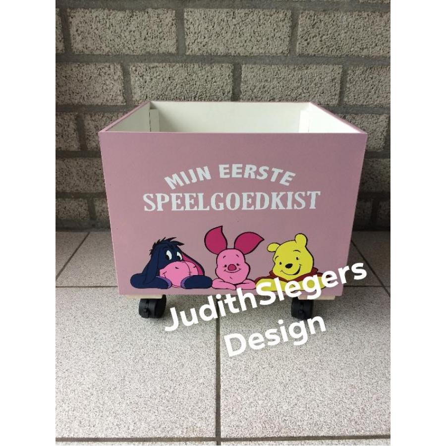 Speelgoed box roze
