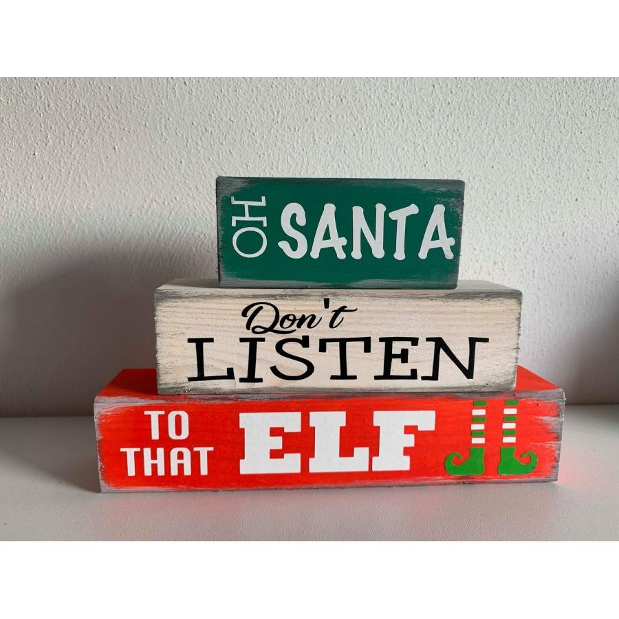 Blokken kerst ELF
