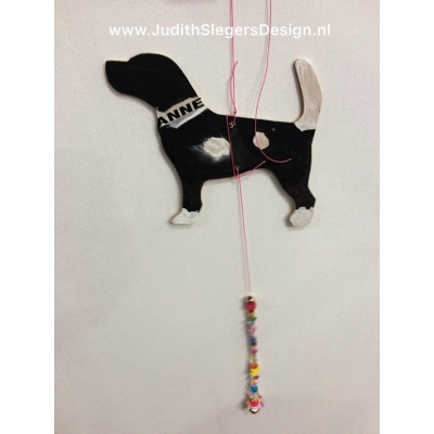 Workshop dier met kralenketting