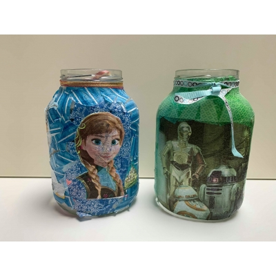 Workshop POT Frozen of starwars