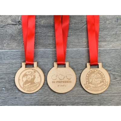 Carnavals medaille met logo