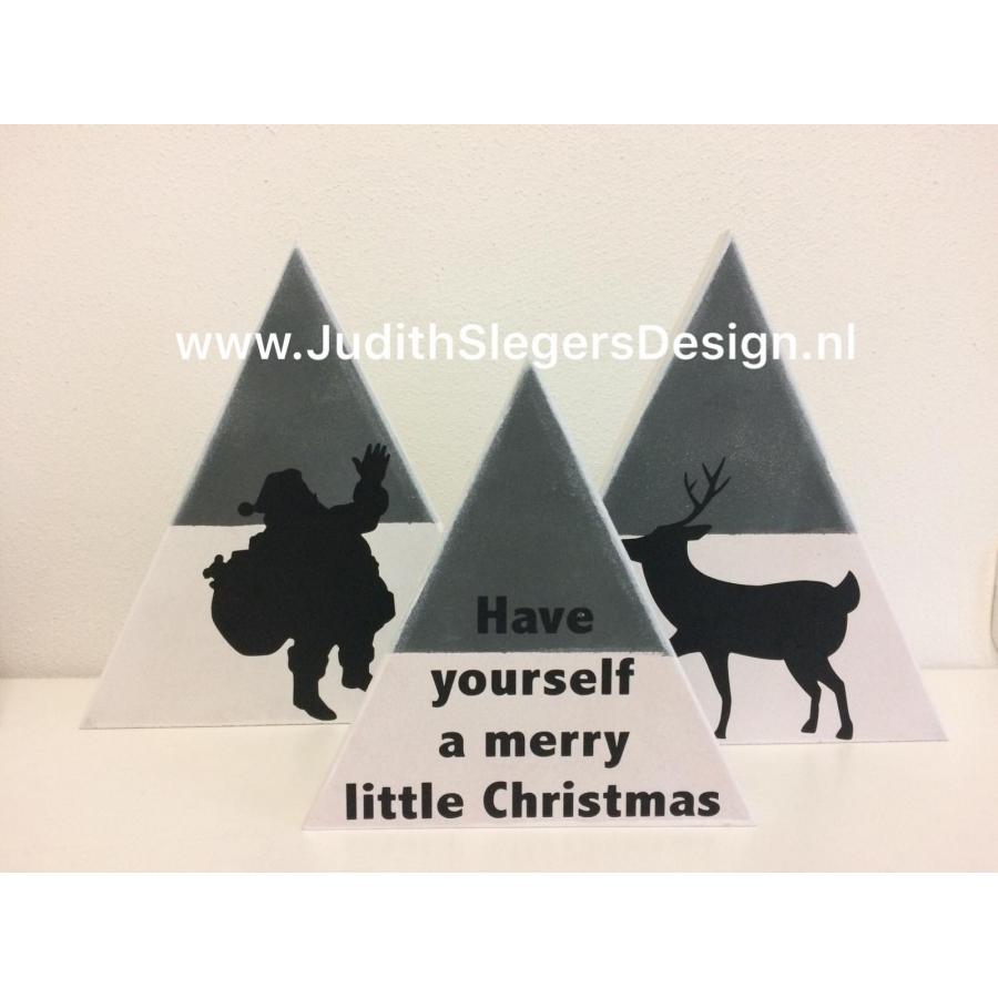 Kerst 3-hoeken 2
