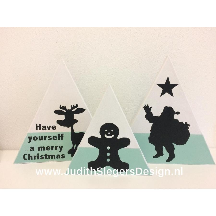 Kerst 3-hoeken 4