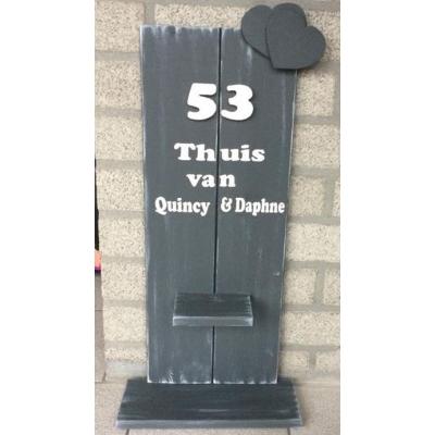 Huisnummerbord